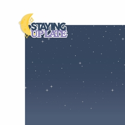 Summer Nights: Staying up Late 2 Piece Laser Die Cut Kit