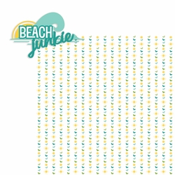 Sun and Sand: Beach Junkie 2 Piece Laser Die Cut Kit