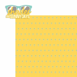 Sun and Sand: Shades 2 Piece Laser Die Cut Kit