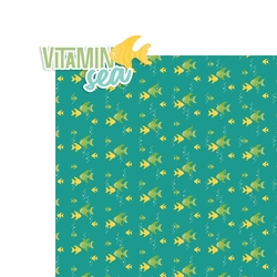 Sun and Sand: Vitamin Sea 2 Piece Laser Die Cut Kit