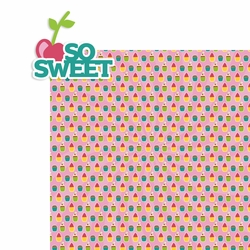 Sweet Treats: So Sweet 2 Piece Laser Die Cut Kit