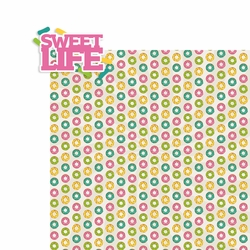 Sweet Treats: Sweet Life 2 Piece Laser Die Cut Kit
