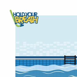 Swim: Hold Your Breath 2 Piece Laser Die Cut Kit