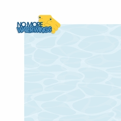 Swim: No more Water Wings 2 Piece Laser Die Cut Kit