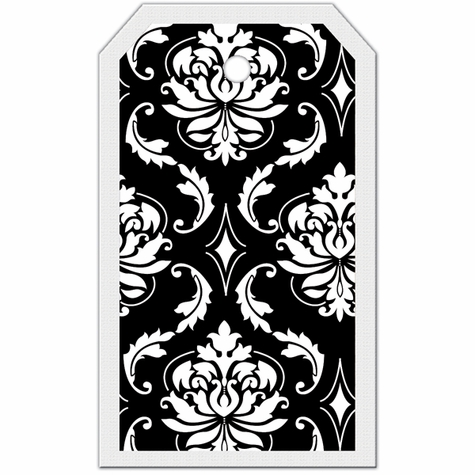 Tag-UR-It Damask Photo Tag