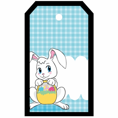 Tag-UR-It Easter Bunny Photo Tag