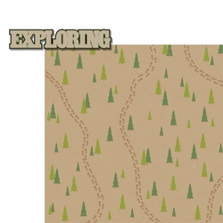 Take A Hike: Exploring 2 Piece Laser Die Cut Kit