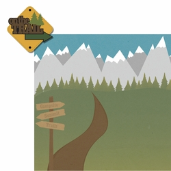 Take A Hike: On the Trail 2 Piece Laser Die Cut Kit