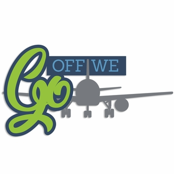 Take Flight: Off we Go Laser Die Cut