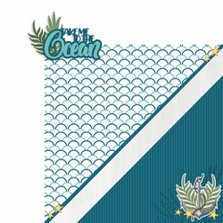Take me to the Ocean 2 Piece Laser Die Cut Kit