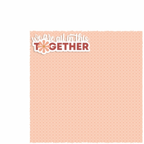 Teenage: We are all in this together 2 Piece Laser Die Cut Kit