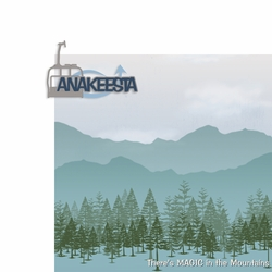Tennessee: Anakeesta 2 Piece Laser Die Cut Kit