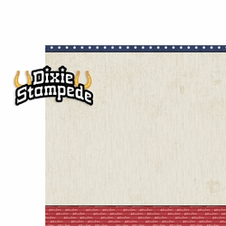 Tennessee: Dixie Stampede 2 Piece Laser Die Cut Kit