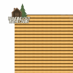 Tennessee: Hanging out in the cabin 2 Piece Laser Die Cut Kit
