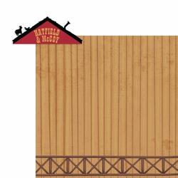 Tennessee: Hatfield and McCoy 2 Piece Laser Die Cut Kit