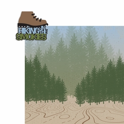 Tennessee: Hiking in the Smokies 2 Piece Laser Die Cut Kit