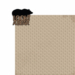 Tennessee: Look! A bear 2 Piece Laser Die Cut Kit