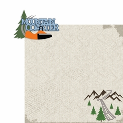 Tennessee: Mountain Coaster 2 Piece Laser Die Cut Kit