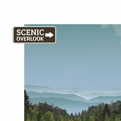 Tennessee: Scenic Overlook 2 Piece Laser Die Cut Kit