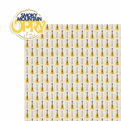 Tennessee: Smoky Opry 2 Piece Laser Die Cut Kit