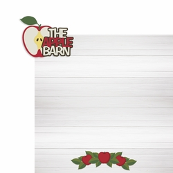 Tennessee: The Apple Barn 2 Piece Laser Die Cut Kit