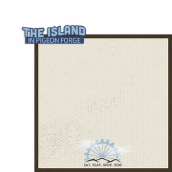 Tennessee: The Island 2 Piece Laser Die Cut Kit