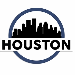 Texas: Houston Laser Die Cut
