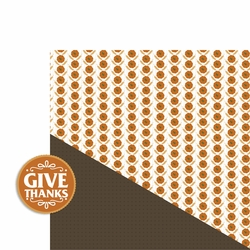 Thanksgiving: Give Thanks 2 Piece Laser Die Cut Kit