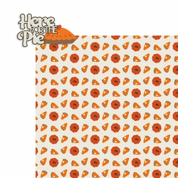 Thanksgiving: Here for the Pie 2 Piece Laser Die Cut Kit