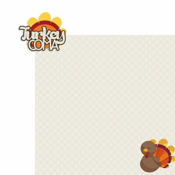 Thanksgiving: Turkey Coma 2 Piece Laser Die Cut Kit