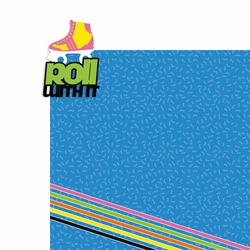 The 80s: Roll with it 2 Piece Laser Die Cut Kit