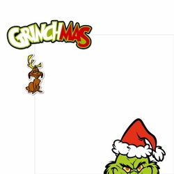 The Grinch: Grinchmas 2 Piece Print and Cut Kit
