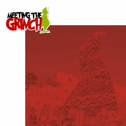 The Grinch: Meeting the Grinch 2 Piece Laser Die Cut Kit