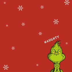 The Grinch: Naughty 12 x 12 Custom Paper