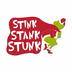 The Grinch: Stink Stank Stunk Laser Die Cut