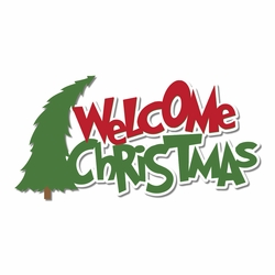 The Grinch: Welcome Christmas Laser Die Cut
