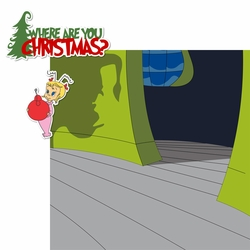 The Grinch: Where Are You 2 Piece Print and Cut Kit