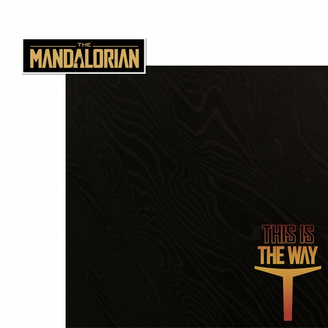 The Mandalorian: This is the way 2 Piece Laser Die Cut Kit