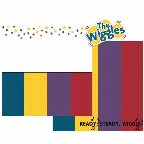 The Wiggles Double Page Layout Kit