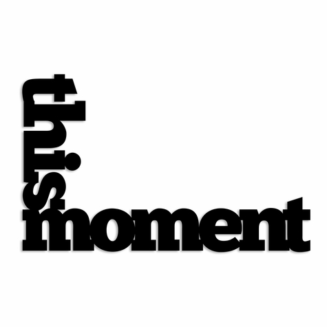 This Moment Laser Die Cut