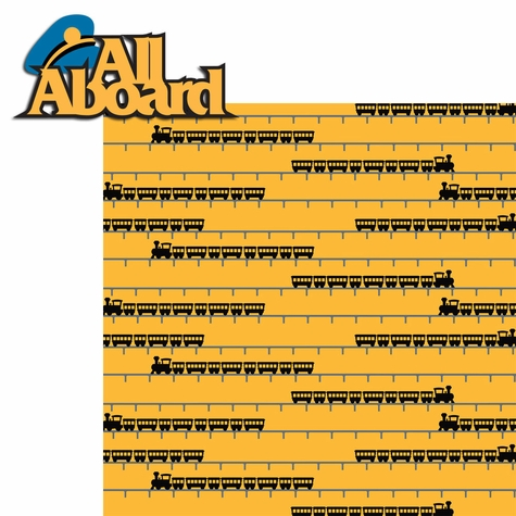 Thomas Train: All Aboard 2 Piece Laser Die Cut Kit