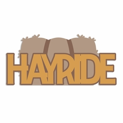 Time for Fall: Hayride Laser Die Cut