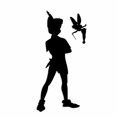 2SYT Tinkerbell: Pan and Tink Laser Die Cut