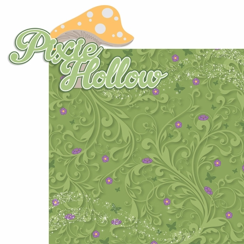 2SYT Tinkerbell: Pixie Holllow 2 Piece Laser Die Cut Kit