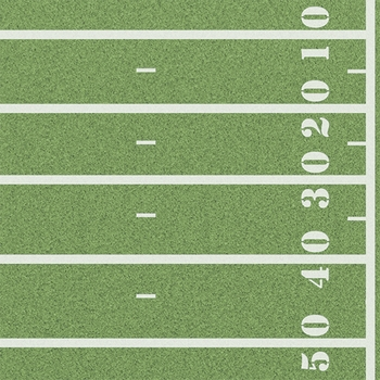 Touch Down:  Football Field 12 x 12 Paper