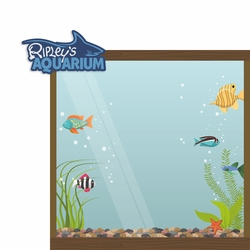 Tourist Trap: Ripley's Aquarium 2 Piece Laser Die Cut Kit