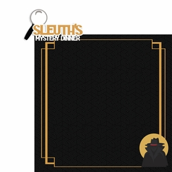 Tourist Trap: Sleuth's Mystery 2 Piece Laser Die Cut Kit