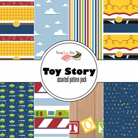 Toy Story: Assorted 12 x 12 Paper Pack