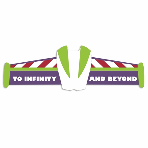 Toy Story: Infinity and Beyond Laser Die Cut