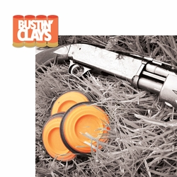 Trap Shoot: Bustin' Clays 2 Piece Laser Die Cut Kit